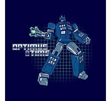 Optimus Time Photographic Print