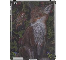 Fox in the Raspberries iPad Case/Skin