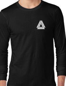 Bastille - Simple WWCOMMS Triangle Long Sleeve T-Shirt