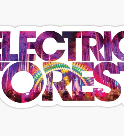 Electric Forest Sticker