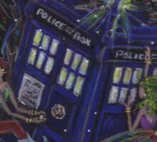 TARDIS 1 Sticker