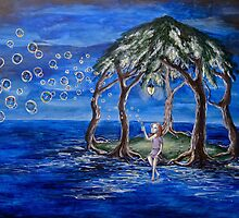 Bubbles On The Wind by Hannah Aradia