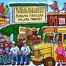 RUE ST.LAURENT VINTAGE GROCERY STORE SIMCHA'S FRUIT SHOP by Carole  Spandau