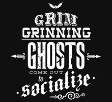 Haunted Mansion - Grim Grinning Ghosts Kids Clothes