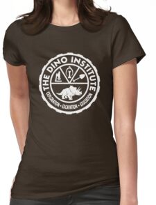 The Dino Institute Womens Fitted T-Shirt