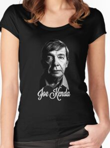 Joe Kenda Black Women's Fitted Scoop T-Shirt