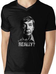 Joe Kenda Really? Mens V-Neck T-Shirt