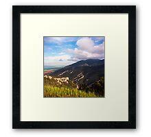 Bighorn National Forest Vista Framed Print