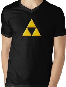 Triforce Mens V-Neck T-Shirt