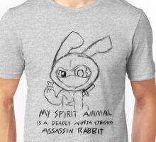 Deadly Ninja Cyborg Assassin Rabbit Unisex T-Shirt