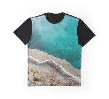 Yellowstone National Park - Hot Spring Blue Waters Graphic T-Shirt