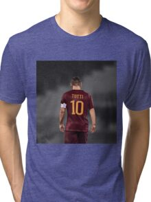 Francesco Totti 10 Tri-blend T-Shirt