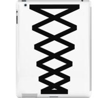 Corset in Black & White  iPad Case/Skin