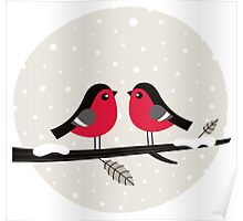 New vintage stylish Birds in shop Poster