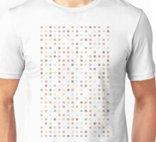 Background a square Unisex T-Shirt
