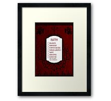 Whatever Makes You Happy Framed Print