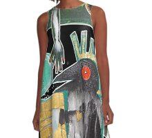 crow heART A-Line Dress