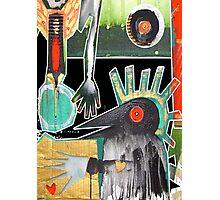 crow heART Photographic Print