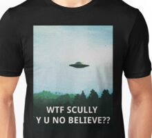 X-Files WTF SCULLY Unisex T-Shirt