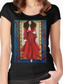 The Velvet Vampire Women's Fitted Scoop T-Shirt