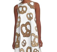These pretzels are making me thirsty A-Line Dress
