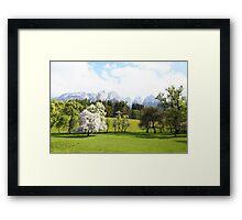 Green Spring Austrian Landscape Framed Print