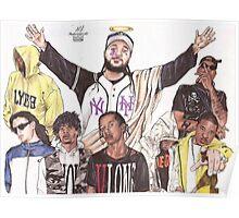 A$AP MOB Poster
