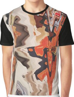 Orange Graphic T-Shirt