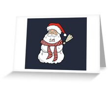 Snowmaclaus Greeting Card