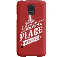 Magic Kingdom - Walt's Happy Place Samsung Galaxy Case/Skin