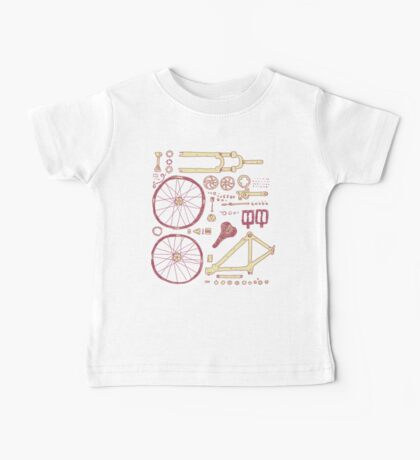 Bicycle Parts Baby Tee