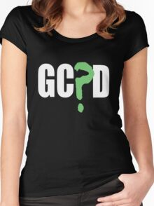 GC?D Women's Fitted Scoop T-Shirt