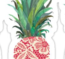 Modern Pineapple Sticker