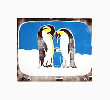 Penguins on tv Unisex T-Shirt