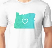 I Love Oregon Unisex T-Shirt