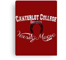 Canterlot College - Varsity Magic Canvas Print