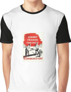 Communist Poster Graphic T-Shirt