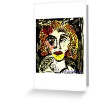 Marchesa Luisa Casati Portrait #2 Greeting Card
