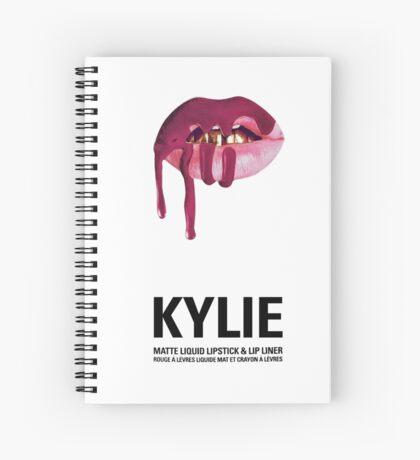"Kylie Cosmetics Lip Kit Box Cover ""Posie K"" Spiral Notebook"