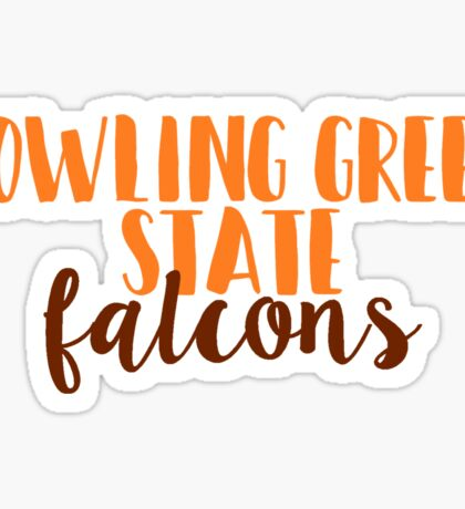 Bowling Green State Falcons Sticker