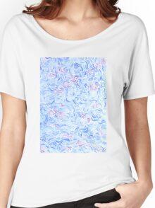 Azure Women's Relaxed Fit T-Shirt