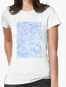 Azure Womens Fitted T-Shirt