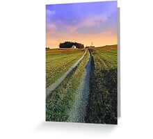 Picturesque indian summer scenery | landscape photography Greeting Card