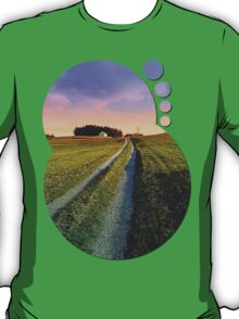 Picturesque indian summer scenery | landscape photography T-Shirt