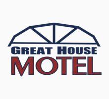 Great House Motel: Sequim, Washington Kids Tee