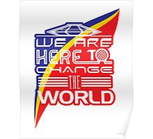 Captain EO - Change the World Poster
