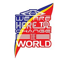 Captain EO - Change the World Photographic Print