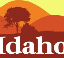 Scenic Idaho Sticker
