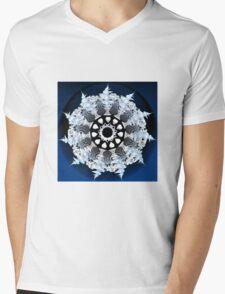 Incendia snowflake Mens V-Neck T-Shirt