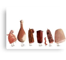 meats Canvas Print